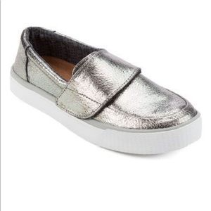 TOMS Women's Altair Slip-On Metallic Sneaker